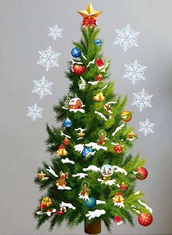 árbol De Navidad De Pared 2020 Tienda Especializada