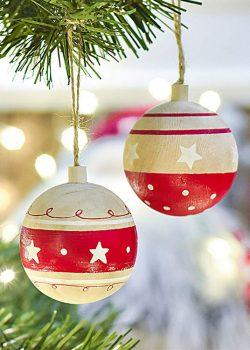Bolas de Navidad en tu árbol