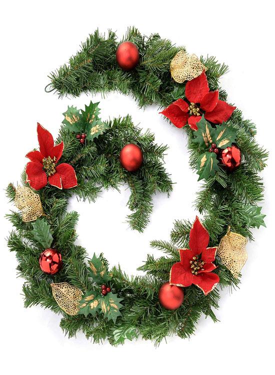 guirnalda arbol de navidad